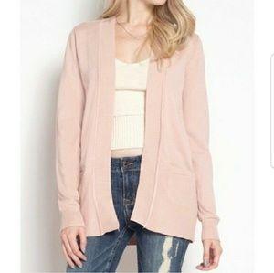 Sweaters - Blush Pink Cardigan